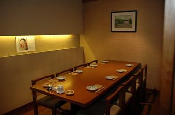 完全個室(テーブル8名用)