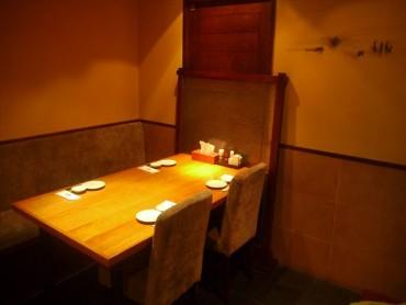 個室 テーブル席