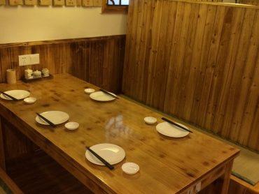 6名用テーブル席