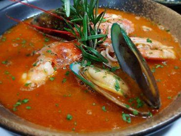(日本語) 海鮮スープ