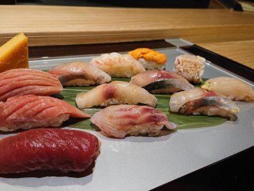 (日本語) 鮨盛り合わせ