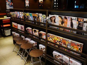 (日本語) 雑誌も充実!