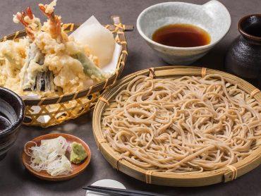 (日本語) 天麩羅蕎麦