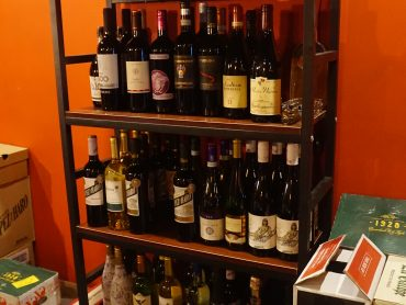 (日本語) ワインの種類が豊富です!