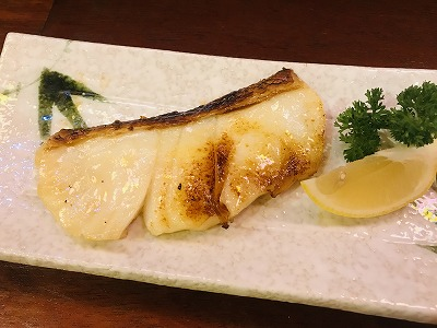 白身魚焼き
